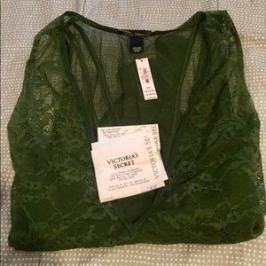 Victoria's Secret Evergreen Bodysuit